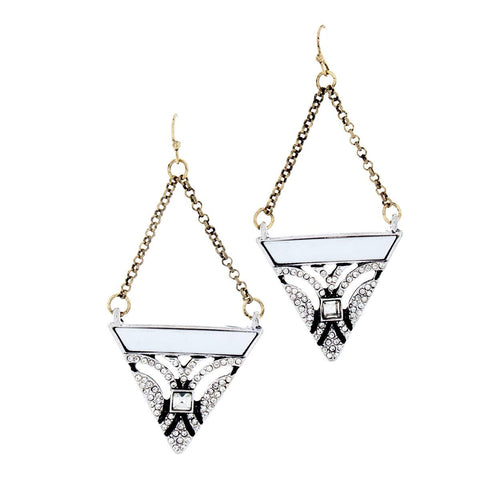 "Earrings, Jewelry - Lillian ""Pure"" Geometric Earrings"