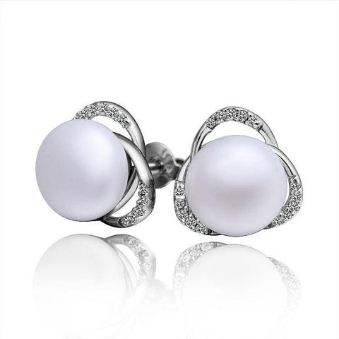 "Earrings,Jewelry - Lucy ""Light"" Pearl Earrings"