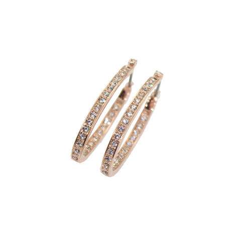 "Earrings,Jewelry - Shaena ""Beautiful"" Hoop Earrings"