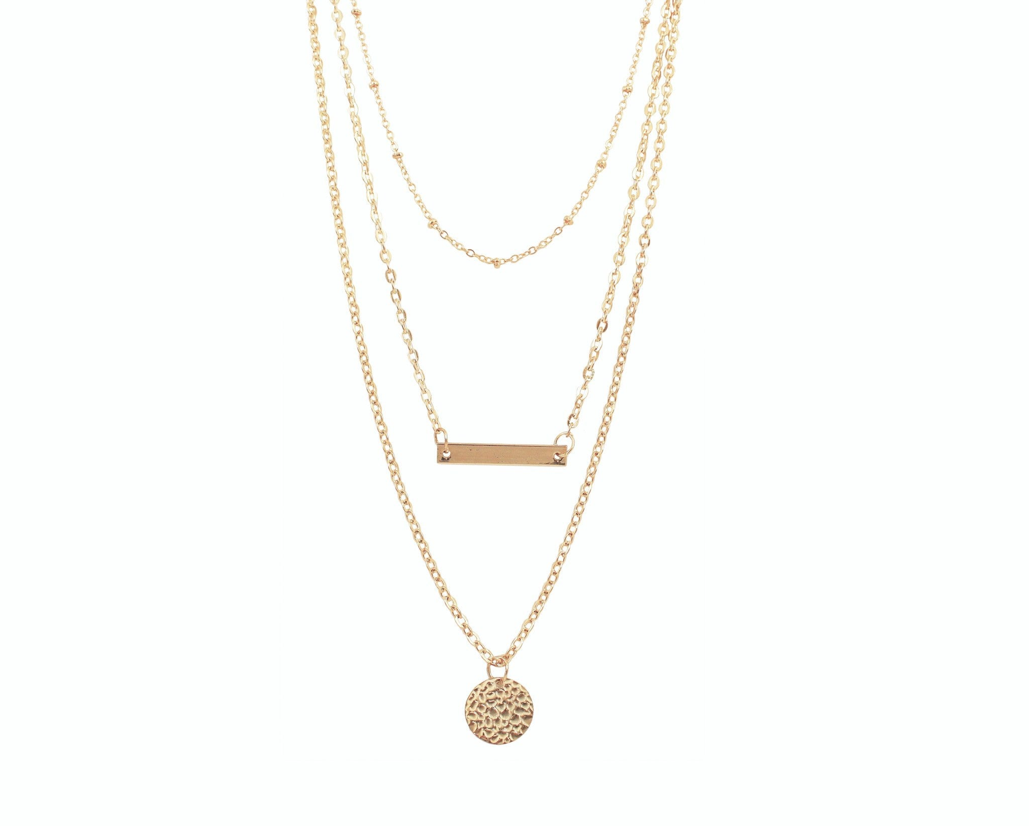 heart drop solitaire necklaces gold necklace rose alexi product triple