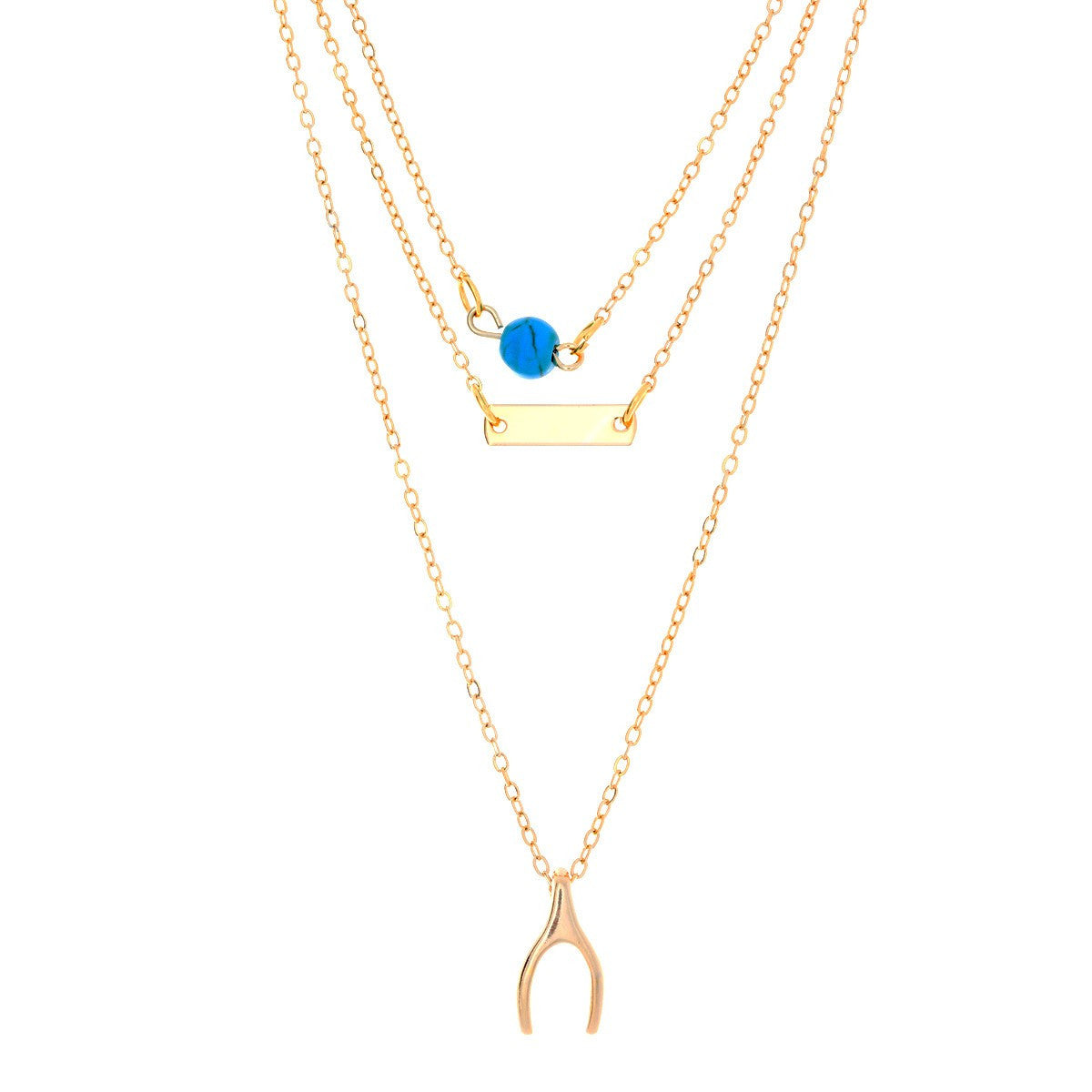 necklace blue diamond gold for pendant women white single heart