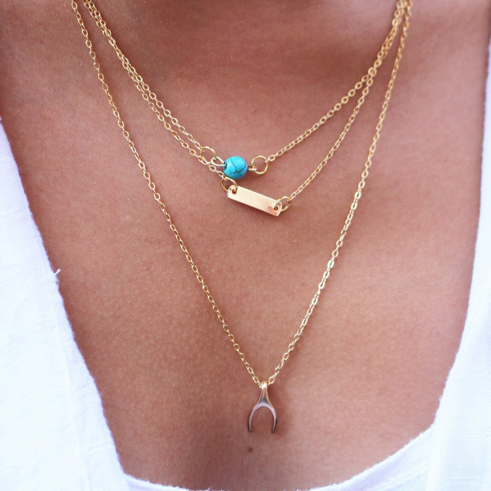 rosa necklace shopping turquoise de fine stars cruz la gold with