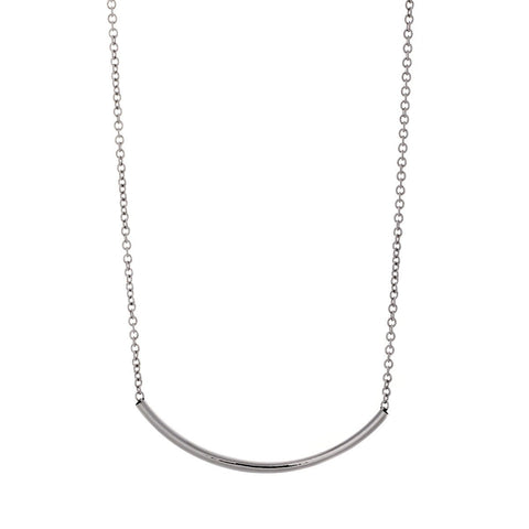 "Jewelry, Necklace, Pendant - Peyton ""Royal"" 18k White Gold Plated Necklace"
