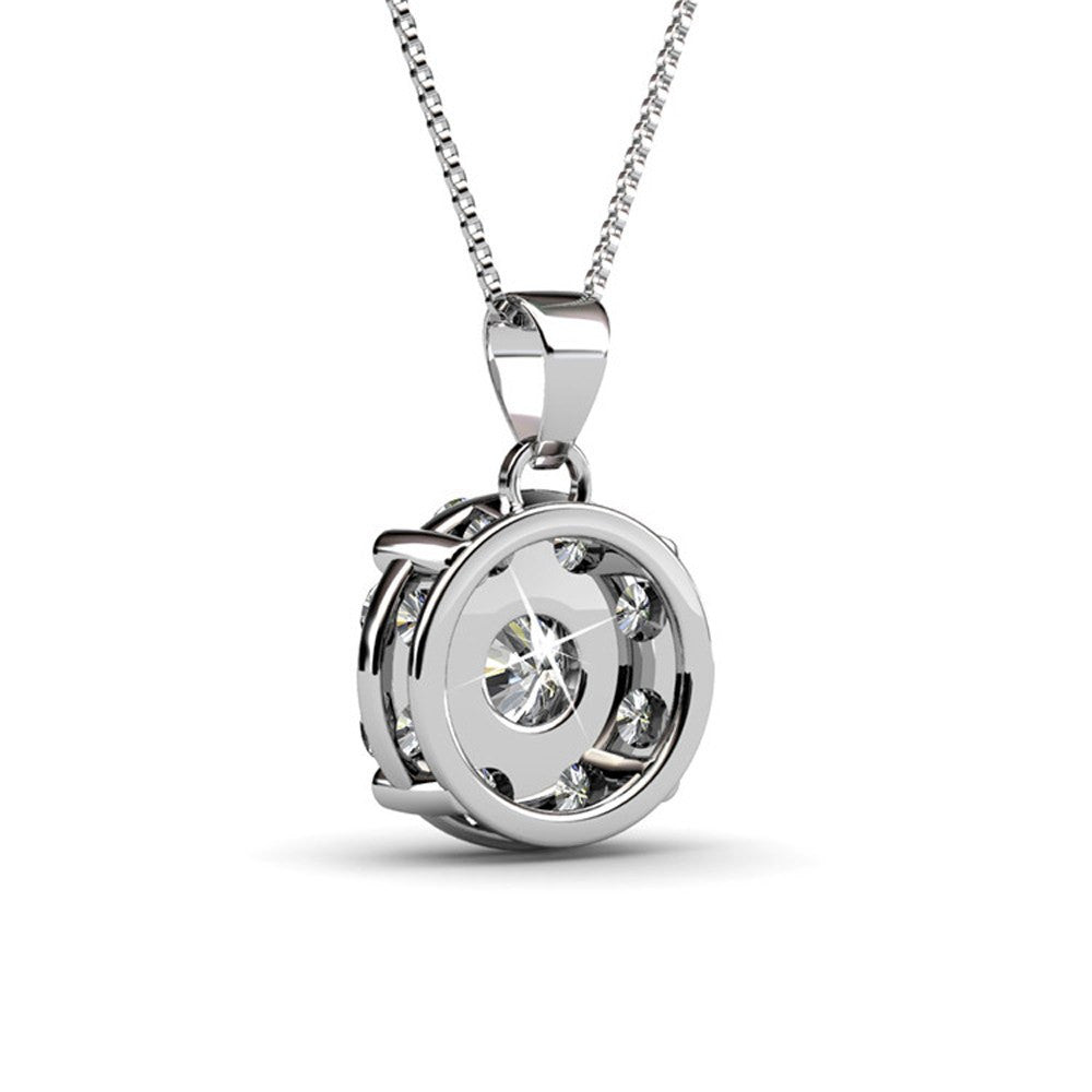 Jewelry necklaces ruth 18k gold swarovski pendant necklace cate jewelry necklace pendant ruth protector 18k white gold plated swarovski pendant mozeypictures Images
