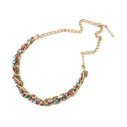 "Irina ""Peace"" Statement Necklace"