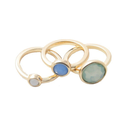 "Jewelry, Rings, Gold - Giuliana ""Nostalgic"" Stacked Ring Set"