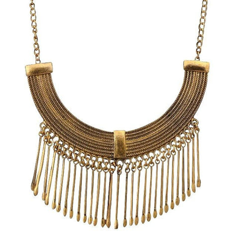 "Necklace,Jewelry - Alexandria ""Defender"" Statement Necklace"