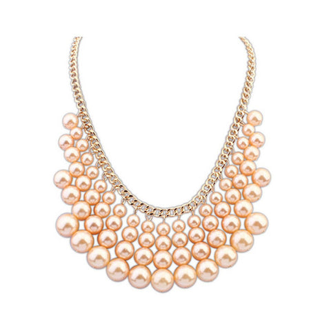 "Necklace,Jewelry - Anastasia ""Reborn"" Statement Necklace"