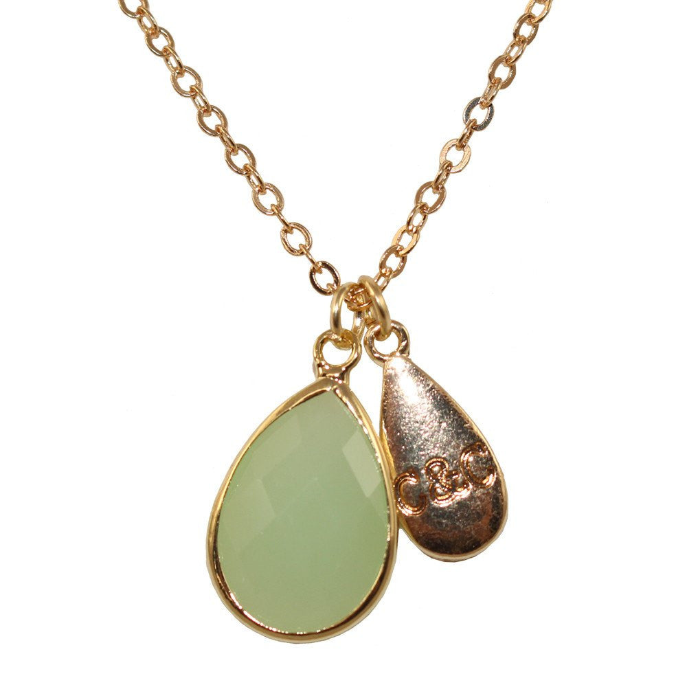 Cate and chloe signature gem necklace jewelry fashion cate chloe necklacejewelry cc signature gem necklace aloadofball Gallery