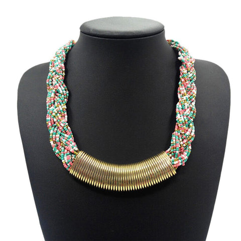 "Necklace,Jewelry - Cleo ""Glory"" Statement Necklace"