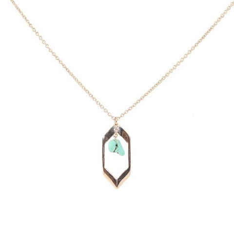 "Necklace,Jewelry - Spencer ""Visionary"" Turquoise Pendant Necklace"