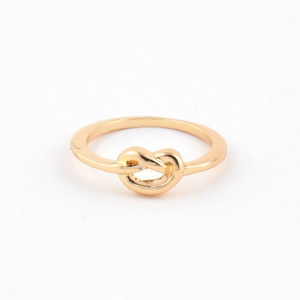 Cate Chloe Kylie Love Knot Ring Jewelry Fashion