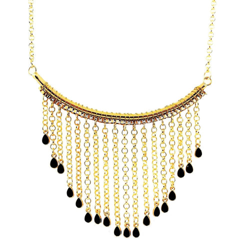 "Sierra ""Cascading"" Statement Necklace"