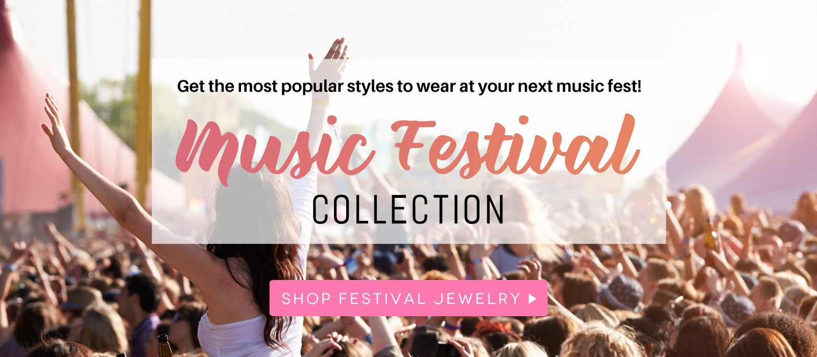 Shop the best jewelry styles for your next music festival or concerts with our new Music Festival Jewelry collection from Cate and Chloe.