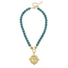 Susan Shaw Genuine Turquoise with Italian