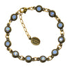 Anne Koplik Stacked Drops Link Bracelet, Gold Plated with Swarovski Crystals, 8 BR4722AIR