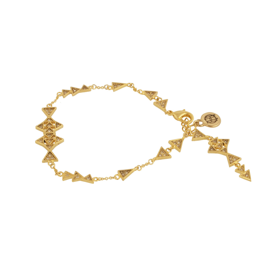 House of Harlow Astrea Drop Chain Bracelet, Goldtone, by Nicole Richie, 8