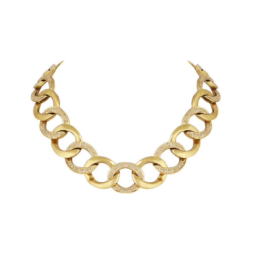 House of Harlow Ra Chain Necklace, Goldtone, 16