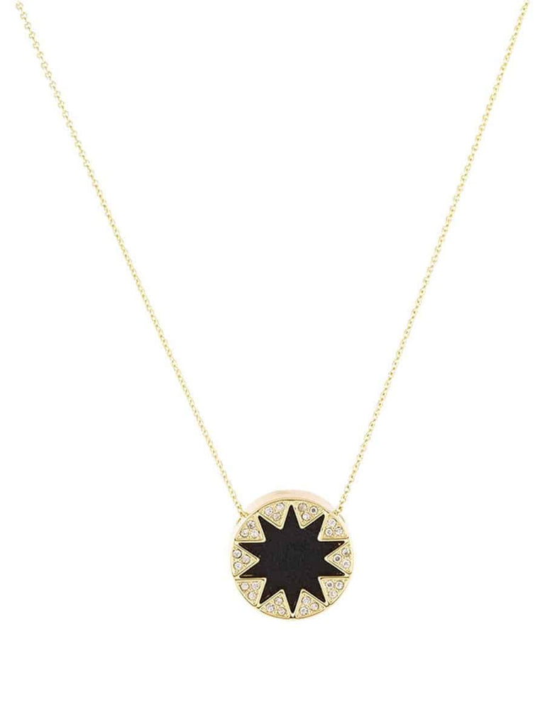 maya card chain on a trying sun dipped reads disc cutout always necklace message sunburst charm plated gold angelou