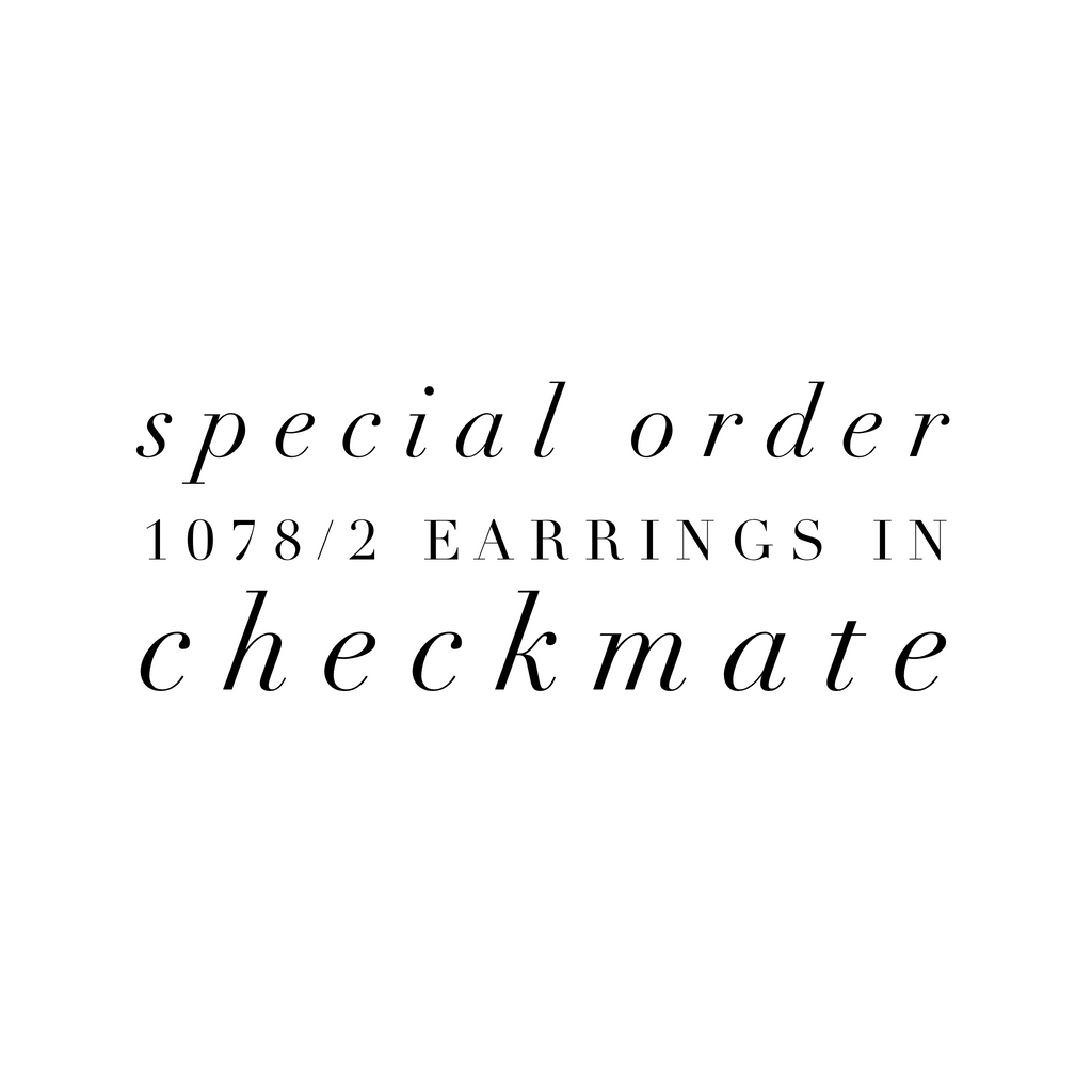 Special Order 1078/2 Checkmate