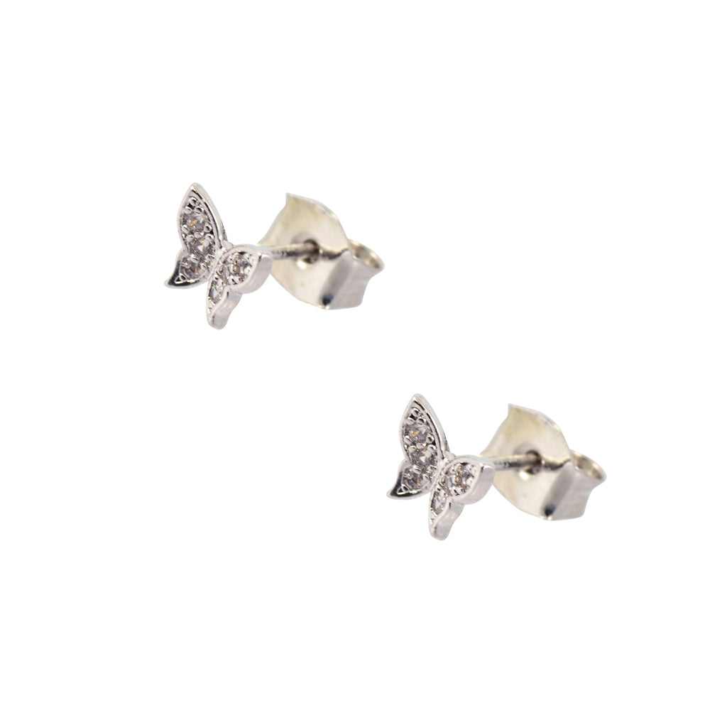In Your Dreams Crystal Butterfly Earrings