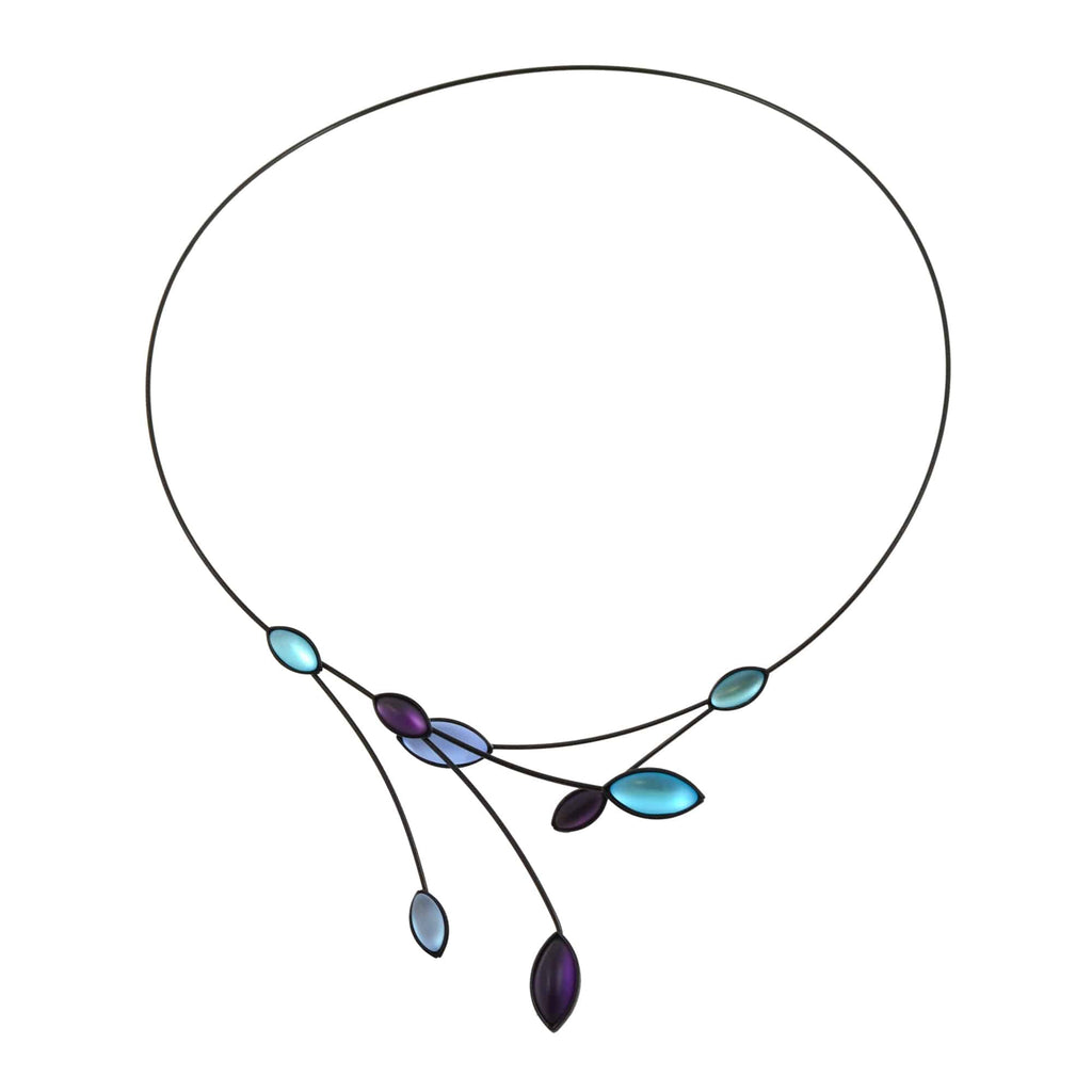 Kristina Collection Necklace: Purple | KC-N101B-KV – En Reverie
