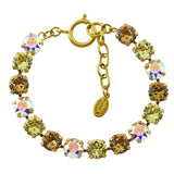 Catherine Popesco Gold Plated Tennis Bracelet, La Vie Parisienne, 8