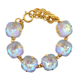 Catherine Popesco Gold Plated Large Moonlight Crystal Bracelet, La Vie Parisienne, 8