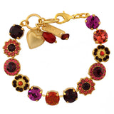 Mariana Jewelry Firefly Bracelet, Gold Plated with Swarovski Crystal, Nature Collection MAR-B-4045_1SO1 M2140 YG