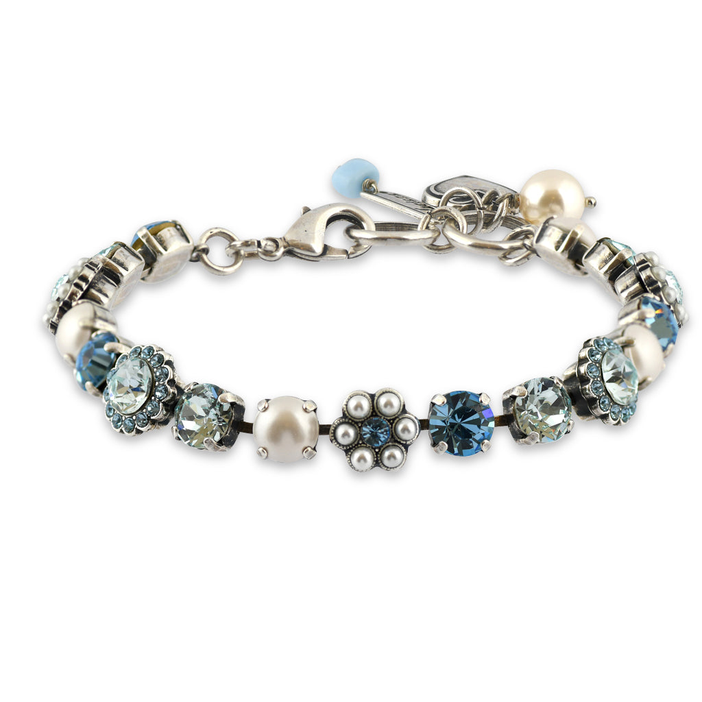Mariana Jewelry Aruba Bracelet, Silver Plated with Swarovski Crystal, Nature Collection 4173_3 202361 SP
