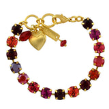 Mariana Jewelry Firefly Bracelet, Gold Plated with Swarovski Crystal, Nature Collection MAR-B-4252SO1 M2140 YG