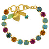 Mariana Jewelry Happy Days Bracelet, Gold Plated with Swarovski Crystal, Nature Collection MAR-B-4252 1007 YG