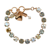Mariana Jewelry Seashell Bracelet, Rose Gold Plated with Swarovski Crystal, Nature Collection MAR-B-4252 39361 RG