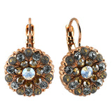 Mariana Jewelry Seashell Earrings, Rose Gold Plated with Swarovski Crystal, Nature Collection MAR-E-1029 39361 RG6