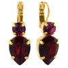 Mariana Jewelry Firefly Earrings, Gold Plated with Swarovski Crystal, Nature Collection MAR-E-1030_6 2140 YG6