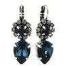 Mariana Jewelry Ocean Earrings, Silver Plated with Swarovski Crystal, Nature Collection MAR-E-1032_14 2142 SP6