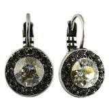 Mariana Jewelry Ice Earrings, Silver Plated with Swarovski Crystal, Nature Collection MAR-E-1129 512 SP6