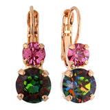 Mariana Jewelry Tutti Frutti Earrings, Rose Gold Plated with Swarovski Crystal, Nature Collection MAR-E-1190 142 RG6