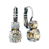 Mariana Jewelry Silver Plated Crystal Earrings