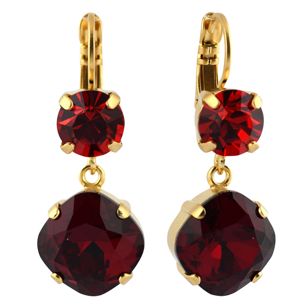 Mariana Jewelry Firefly Earrings, Gold Plated with Swarovski Crystal, Nature Collection MAR-E-1326_0 2140 YG6