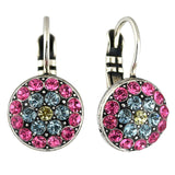 Mariana Jewelry Spring Flowers Earrings, Silver Plated with Swarovski Crystal, Nature Collection MAR-E-1416 2141 SP6