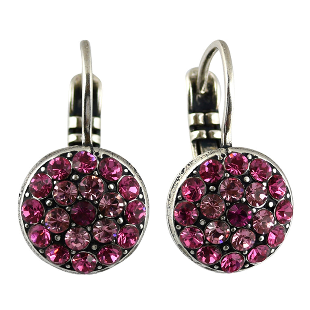 Mariana Jewelry Saba Earrings, Silver Plated with Swarovski Crystal, Nature Collection MAR-E-1416 5022 SP6