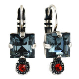 Mariana Jewelry Gelato Earrings, Silver Plated with Swarovski Crystal, Nature Collection MAR-E-1419 117 SP6