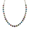 Mariana Jewelry Spring Flowers Necklace, Silver Plated with Swarovski Crystal, Nature Collection MAR-N-3028_1 2141 SP