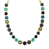 Mariana Jewelry Peacock Necklace, Gold Plated with Swarovski Crystal, Nature Collection MAR-N-3045_1 2139 YG
