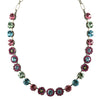 Mariana Jewelry Spring Flowers Necklace, Silver Plated with Swarovski Crystal, Nature Collection MAR-N-3045_1 2141 SP