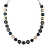 Mariana Jewelry Ocean Necklace, Silver Plated with Swarovski Crystal, Nature Collection MAR-N-3045_1 2142 SP