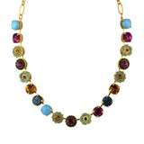 Mariana Jewelry Happy Days Necklace, Gold Plated with Swarovski Crystal, Nature Collection MAR-N-3084 1007 YG