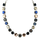 Mariana Jewelry Ocean Necklace, Silver Plated with Swarovski Crystal, Nature Collection MAR-N-3174 2142 SP
