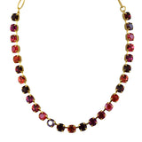 Mariana Jewelry Firefly Necklace, Gold Plated with Swarovski Crystal, Nature Collection MAR-N-3252SO2 M2140 YG